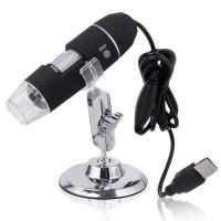 USB 50X ~ 500X 8 LED Dijital, Endoskop Kamera Mikroskop