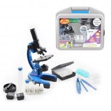 Çocuklar ve Yeni Başlayanlar Mikroskop Set ile 300x 600x 1200x Büyütme