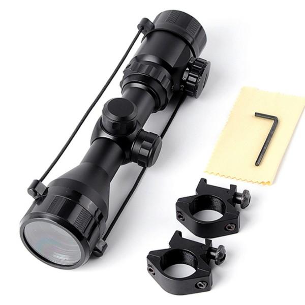 3-9X42 Nikula Zoomlu Av Tüfekleri Dürbünü,Çıft Işıklı Dürbün
