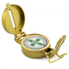 Katlanır Lens Pointer Ile Profesyonel Askeri Pusula, Büyüteç Su Geçirmez Bussola Açık Yürüyüş Compas